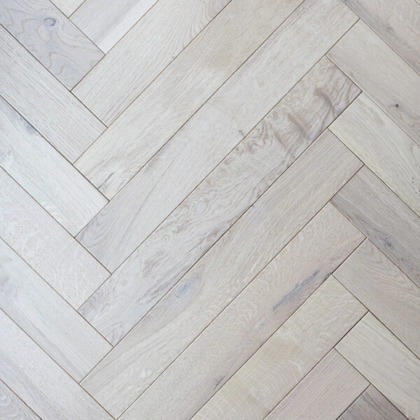 Herringbone French White Trevors Carpets