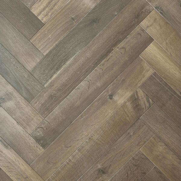 Herringbone Smoked Linen Trevors Carpets